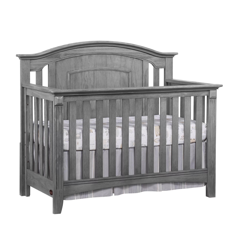 oxford baby willowbrook 4 in 1 convertible crib graphite gray walmart com