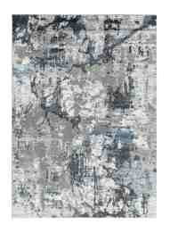 Allure Collection Blue Gray Abstract Marble Soft Area Rug Walmart Com Walmart Com