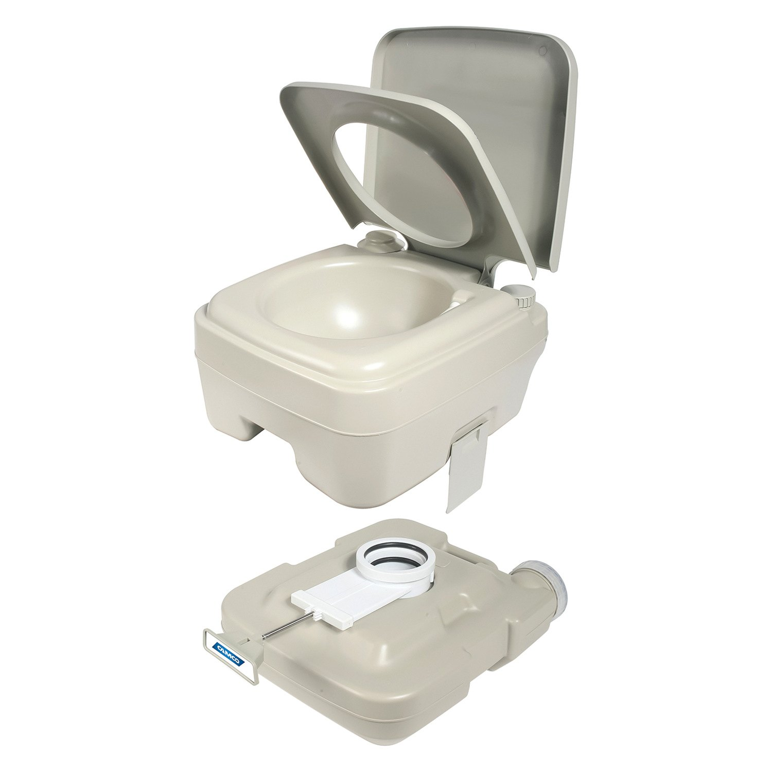 camco 2 6 gallon portable travel toilet designed for camping rv boating and other recreational activities walmart com