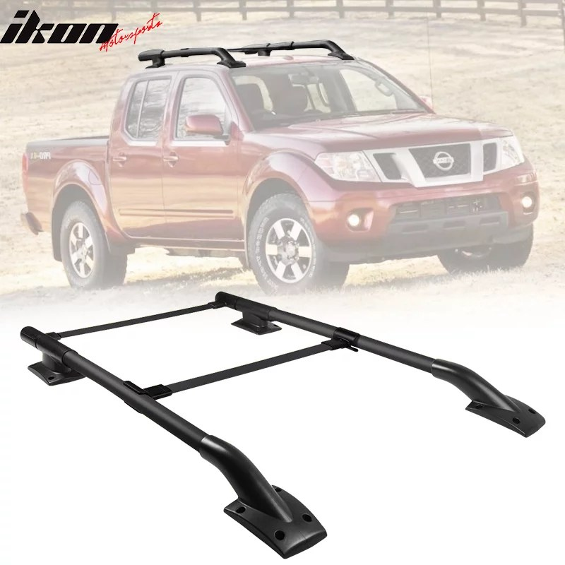 compatible with 05 17 nissan frontier 4dr oe factory style roof rack 2pc walmart com