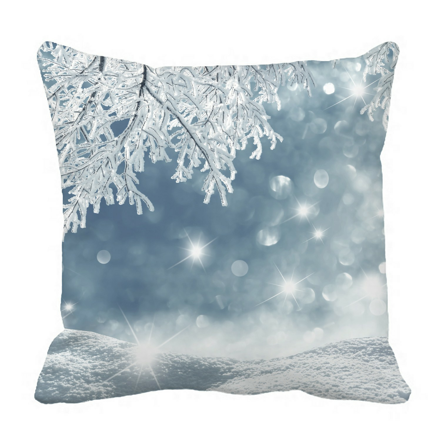 eczjnt winter pillow case pillow cover cushion cover 16x16 inch