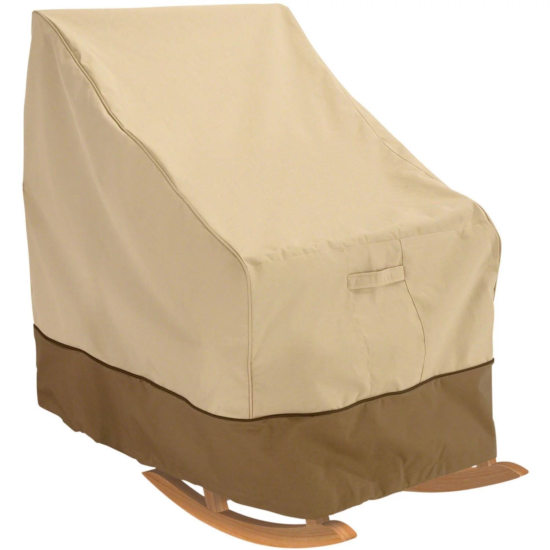 classic accessories veranda water resistant 27 5 inch rocking chair cover walmart com