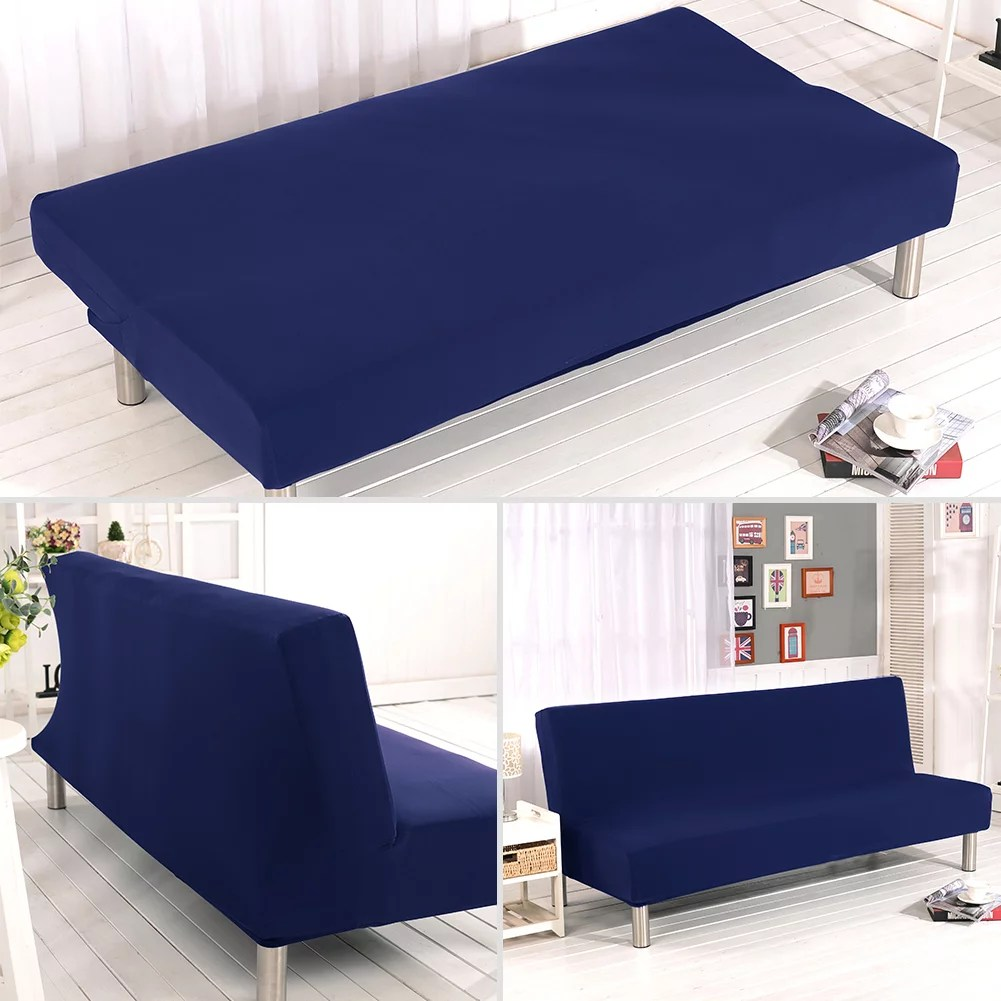 sofa bed cover folding armless sofa cover elastic futon couch slipcover furniture protector cover washable
