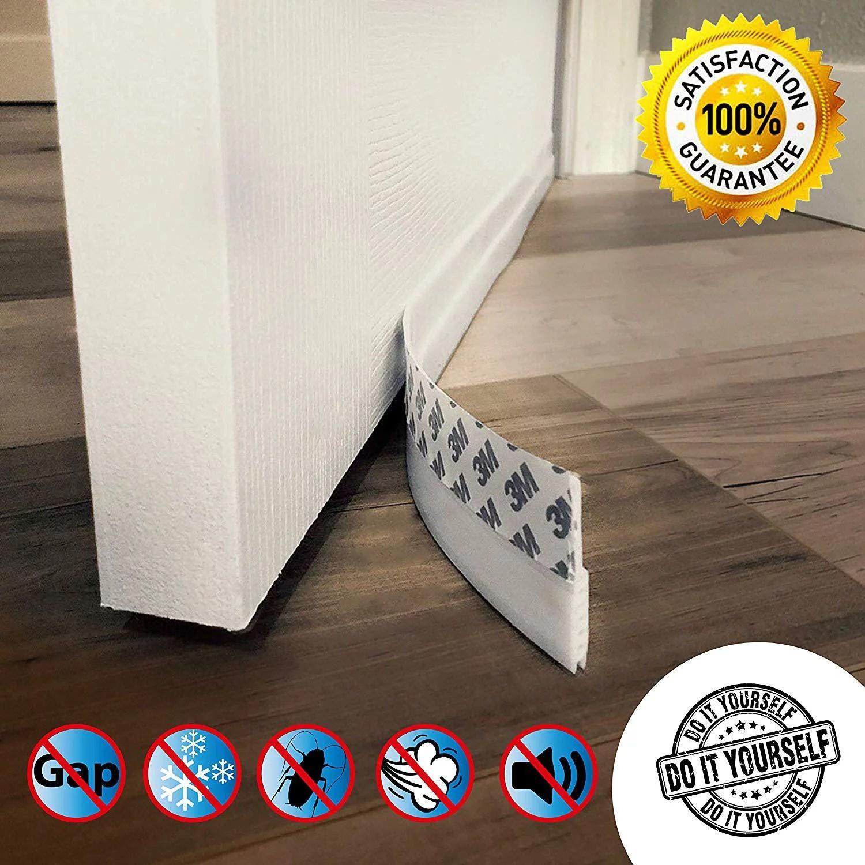 Door Draft Stopper High Performance Silicone Door Sweep