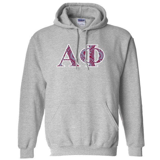 Alpha Phi Hooded Sweatshirt
