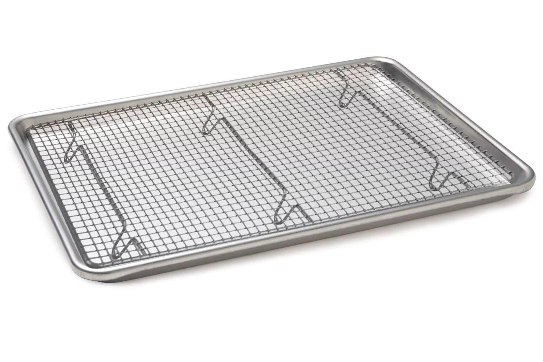 baking sheet with rack