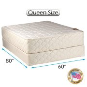 Grandeur Deluxe Queen Size 60 X80 X12 Mattress And Box Spring