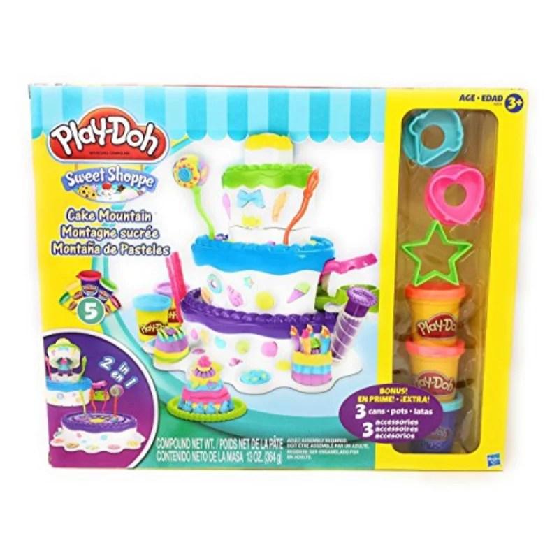 Play Doh Sweet Shoppe Cake Mountain Play Set Walmart Com Walmart Com