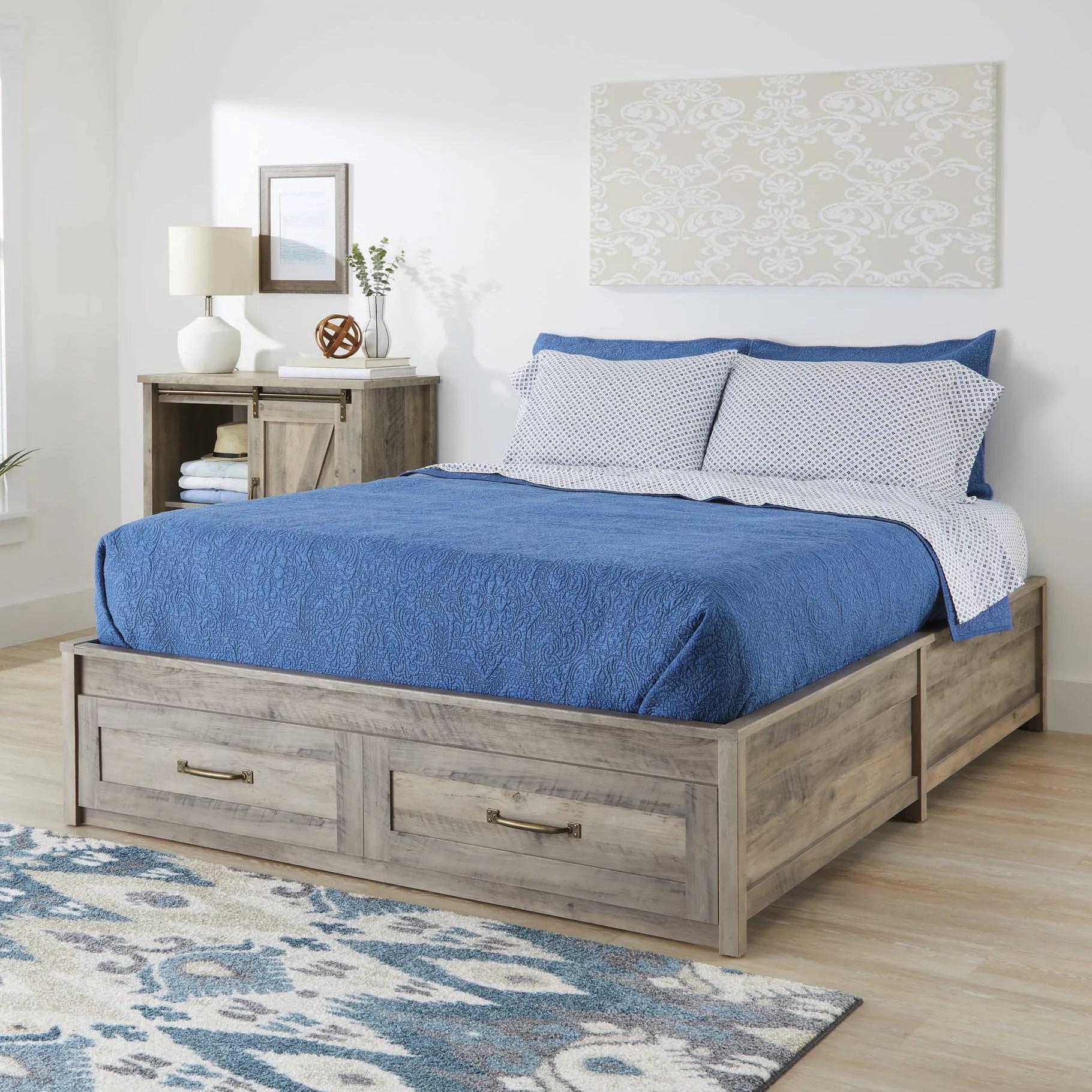 قابل للكشف تك توزيعات ارباح queen size bed frame with storage