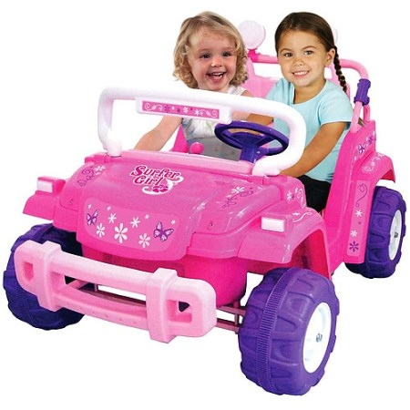 Kid Motorz Surfer Girl 12-Volt Battery-Powered Ride-On