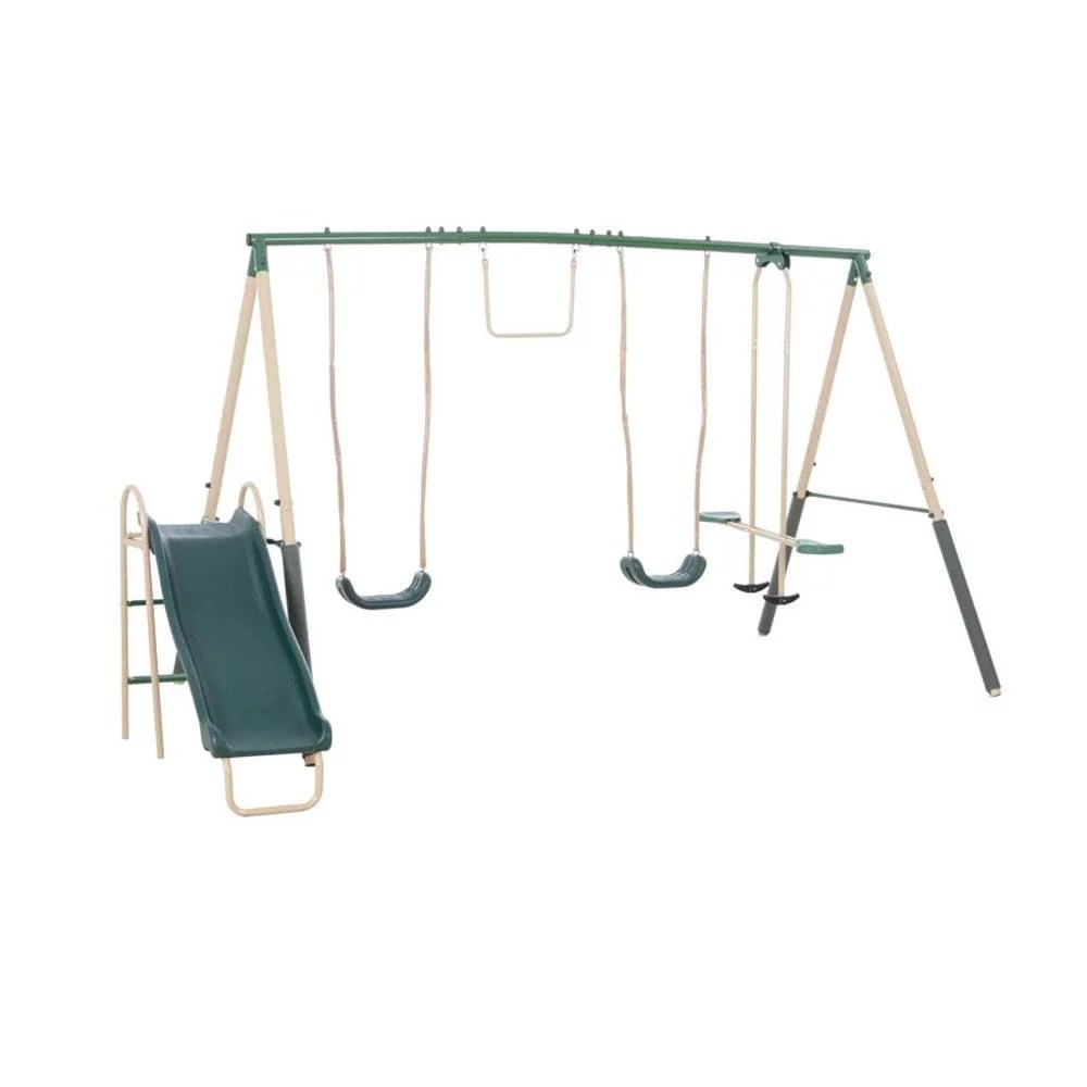 xdp recreation childrens outdoor metal play swing set swing set anchor kit