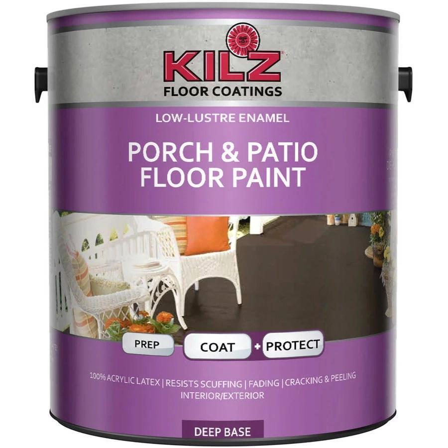 kilz porch and patio floor paint gallon
