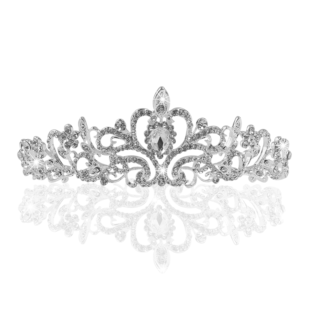 Delicate Wedding Bridal Prom Shining Crystal Rhinestones