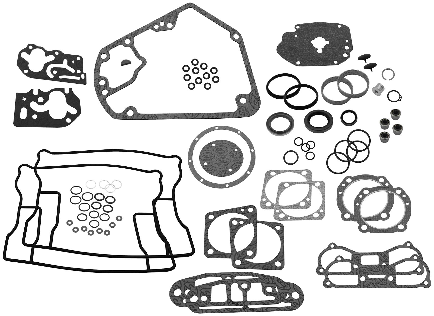 S Amp S Cycle Complete Engine Rebuild Gasket Kit V Series 4in