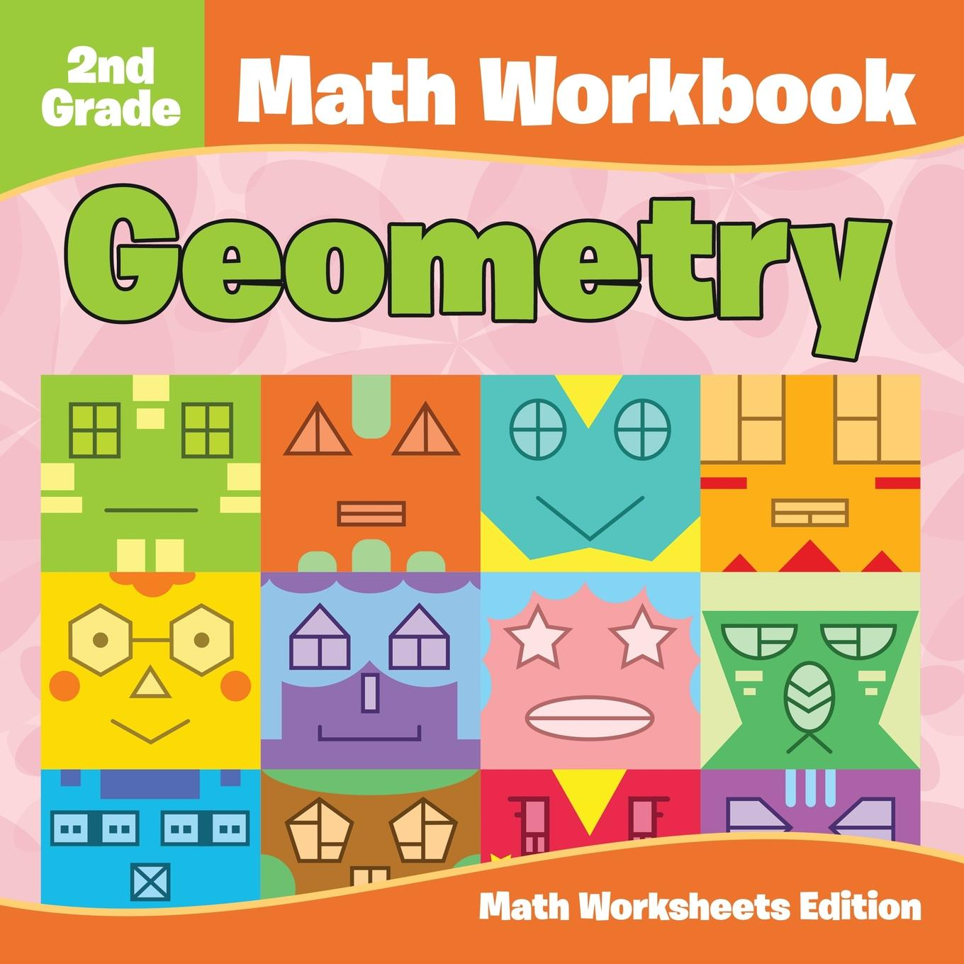 2nd Grade Math Workbook Geometry Math Worksheets Edition