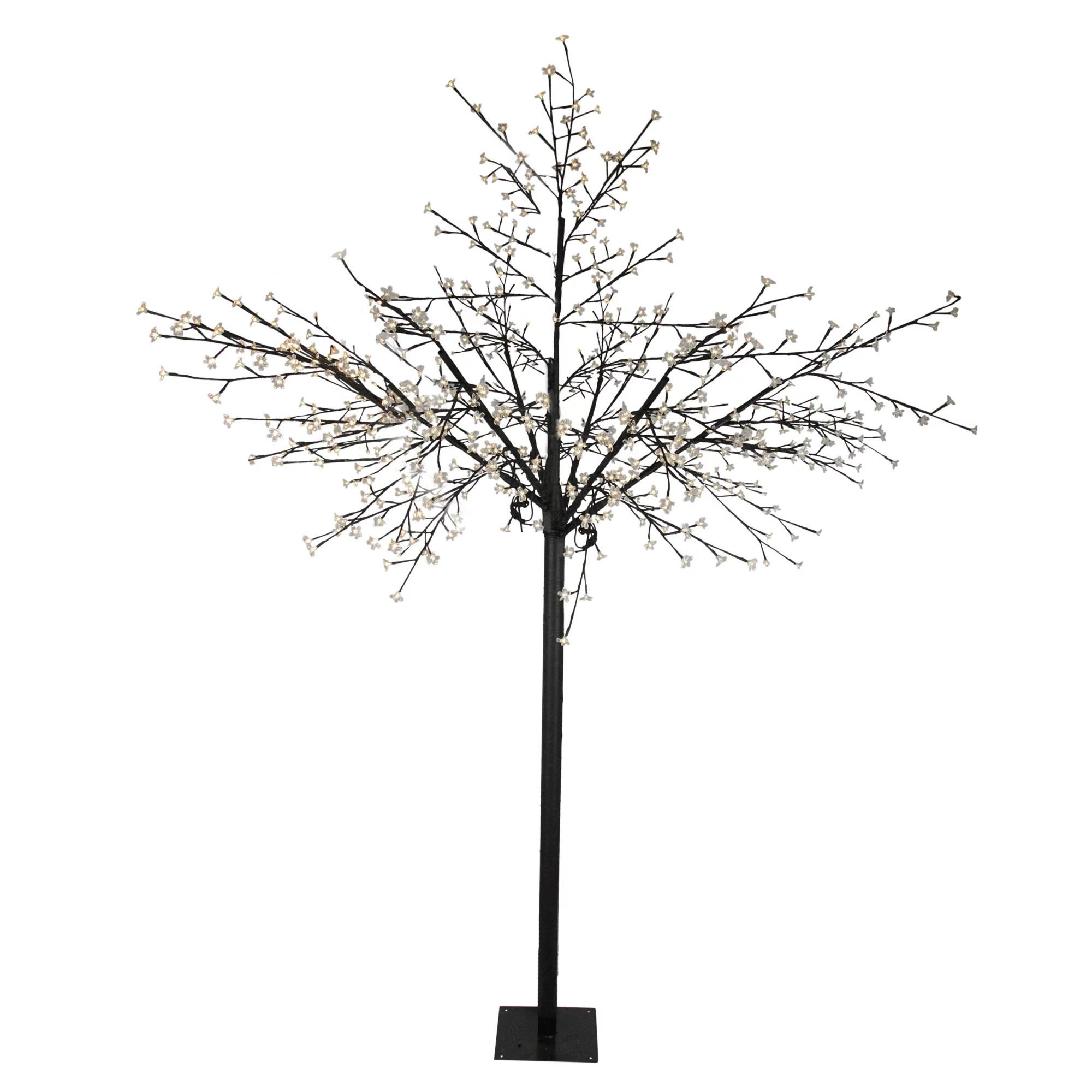 8 Multi Function Led Lighted Cherry Blossom Flower Tree