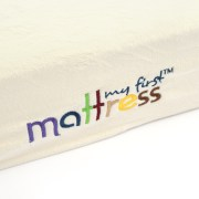 My First Crib Mattress Premium Memory Foam With Plush Removable Waterproof Cover Image 2