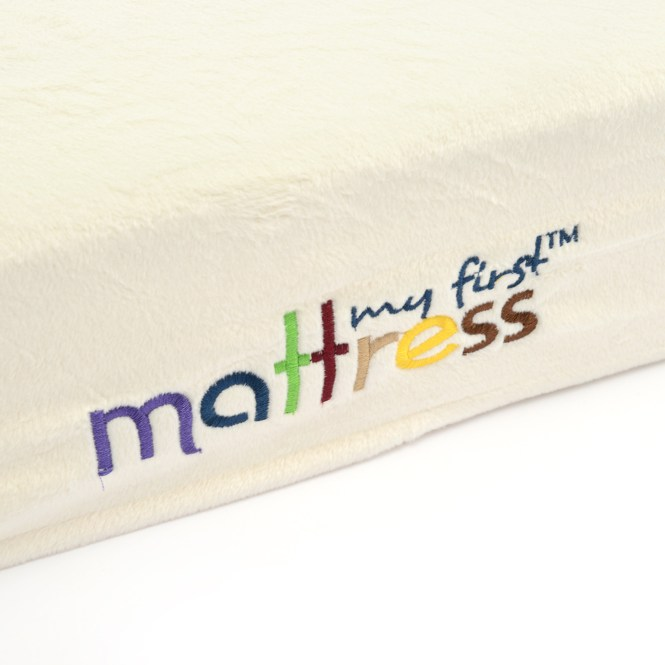 My First Crib Mattress Memory Foam Removable Waterproof Cover Plush Hypoallergenic