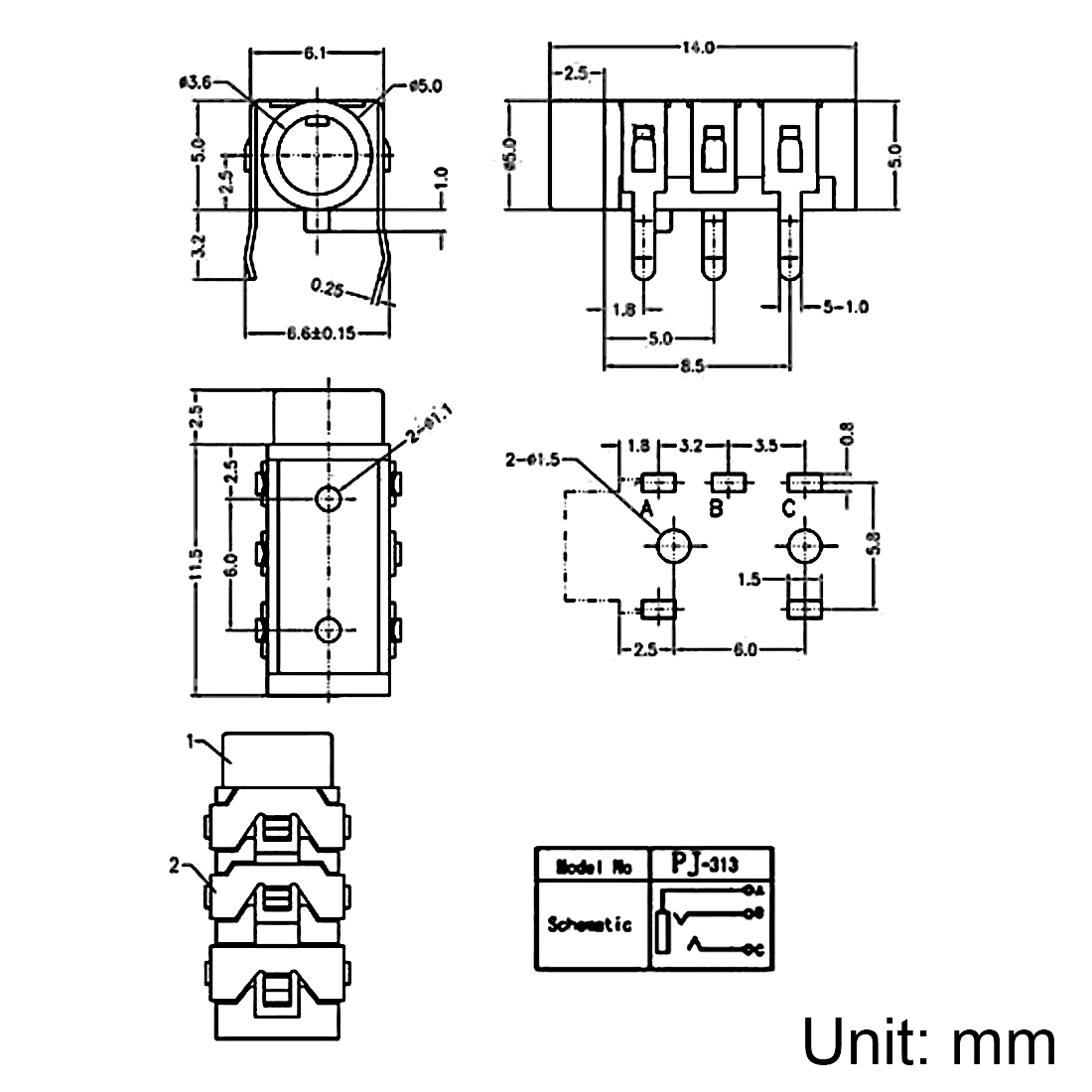 Wiring Diagram For 3 5 Mm Female Stereo Plug