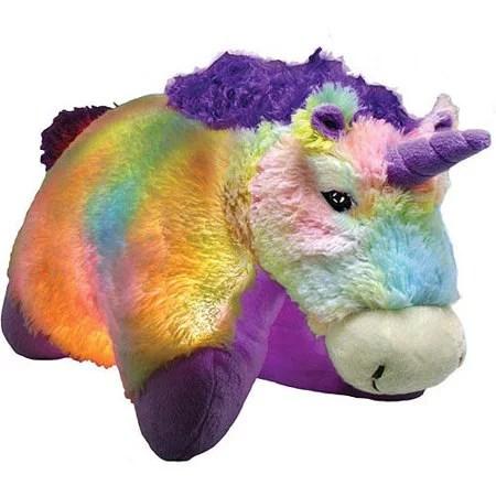 as seen on tv pillow pet glow pets tiedye unicorn