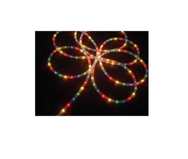 Multi Color Indoor Outdoor Christmas Rope Light Decoration
