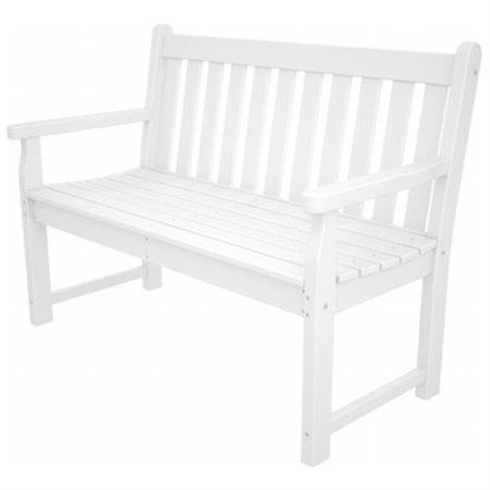 traditional garden 48 inch bench