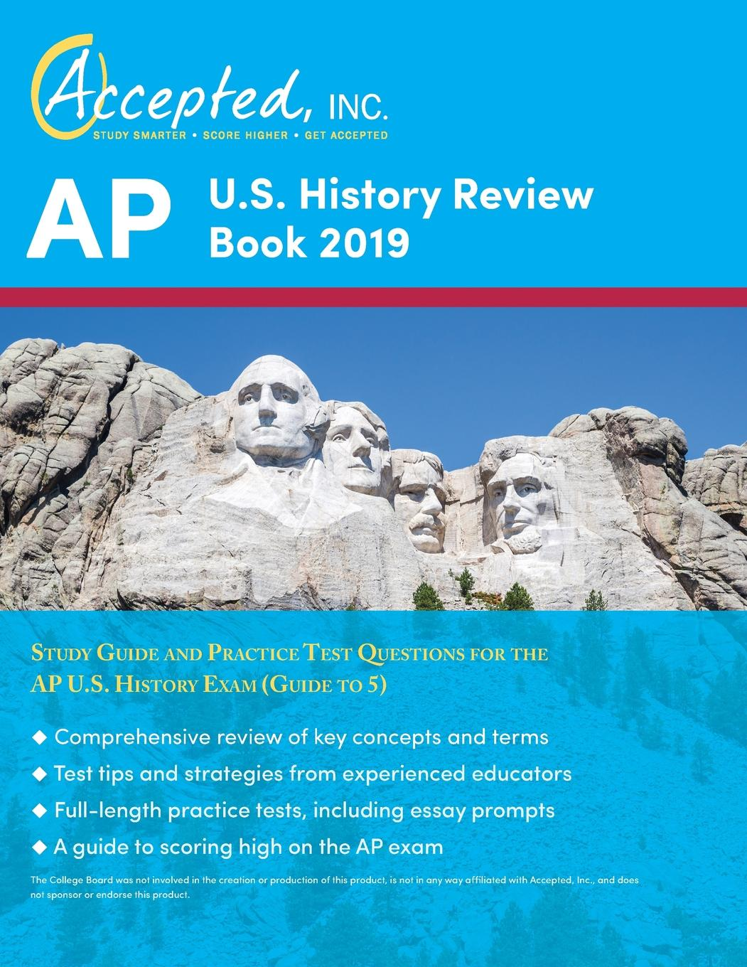 Ap Us History Review Book Study Guide And Practice