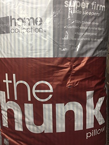 jcpenney home collection the hunk side sleeper pillow super firm king 20x36