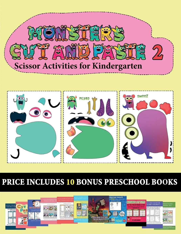 Scissor Activities For Kindergarten Scissor Activities