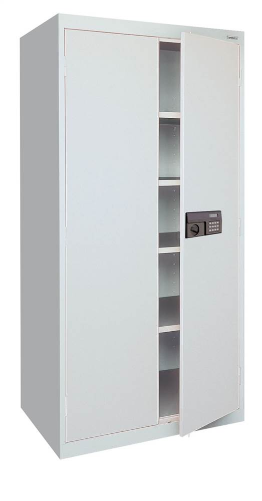 sandusky keyless electronic keypad storage cabinet electronic keypad storage cabinet blue ea4e36247806 metea4e36247806