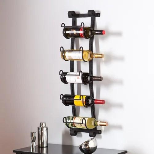 kendt wall mount wine rack