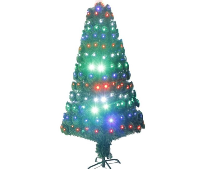 Festival Indoor Outdoor Led Fiber Optic Light Christmas Tree Decoration Walmart Com