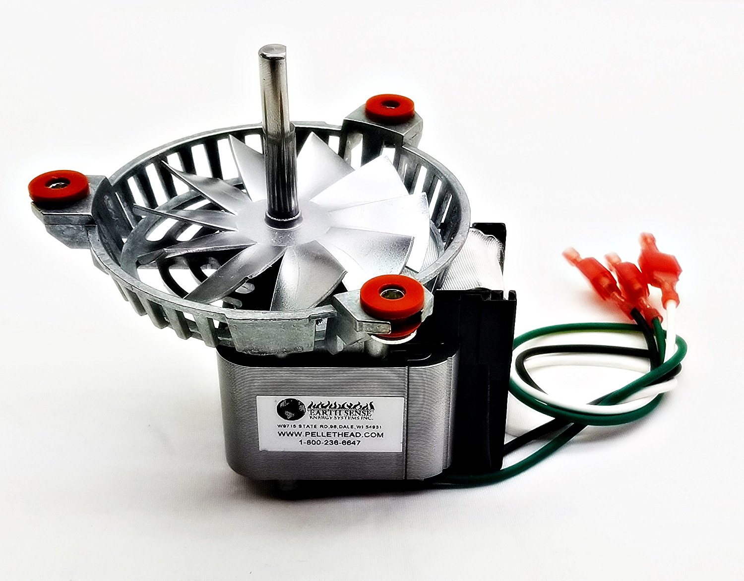 harman combustion exhaust fan motor for pellet stoves 3 21 08639