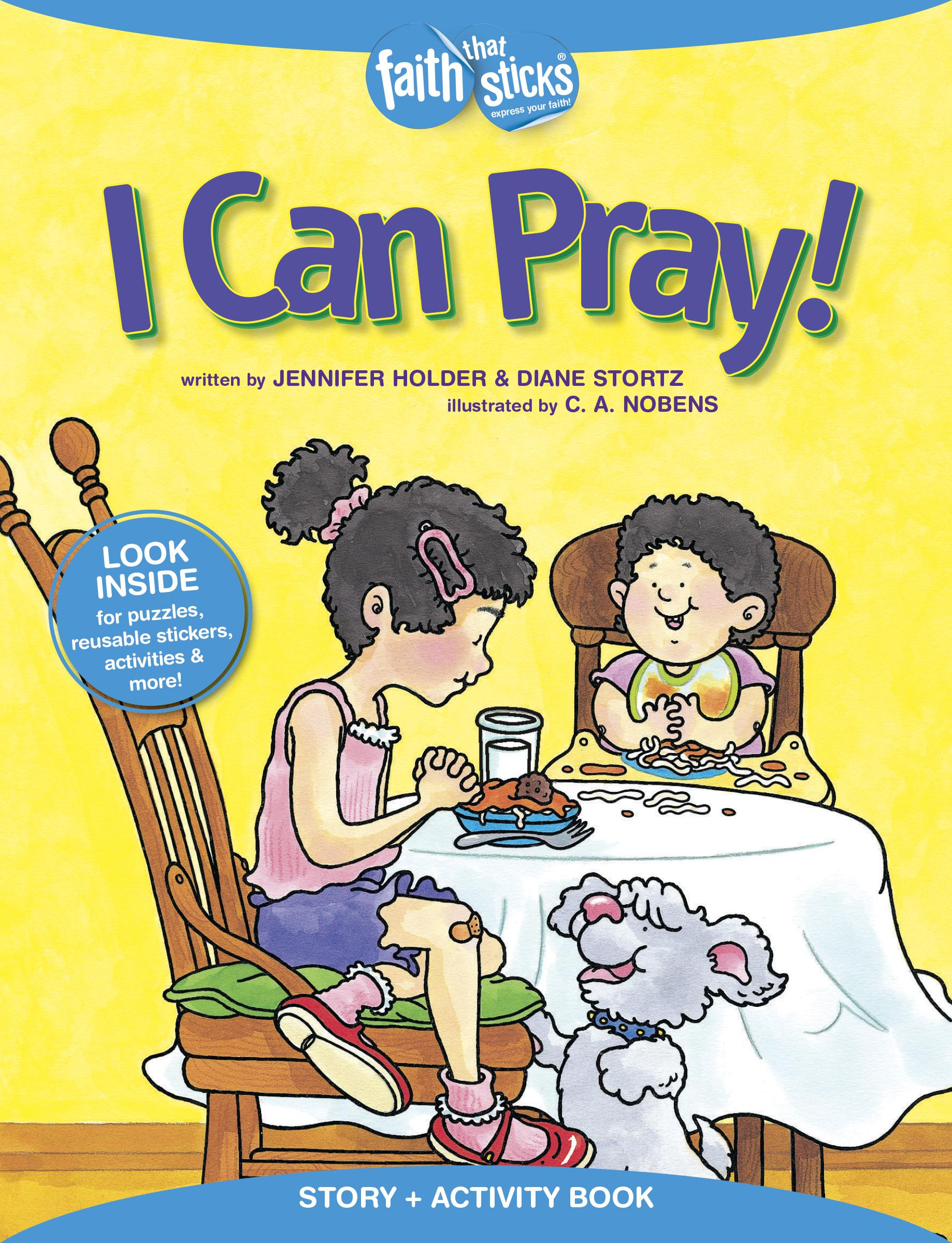 I Can Pray Story Activity Book