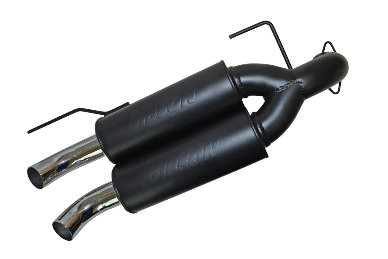 gibson exhaust 98014 gib98014 11 13 polaris ranger rzr xp900 black ceramic dual exhaust system walmart com