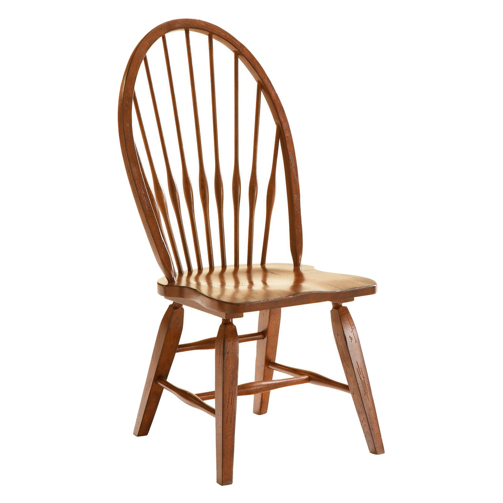 broyhill attic heirlooms windsor dining side chair set of 2
