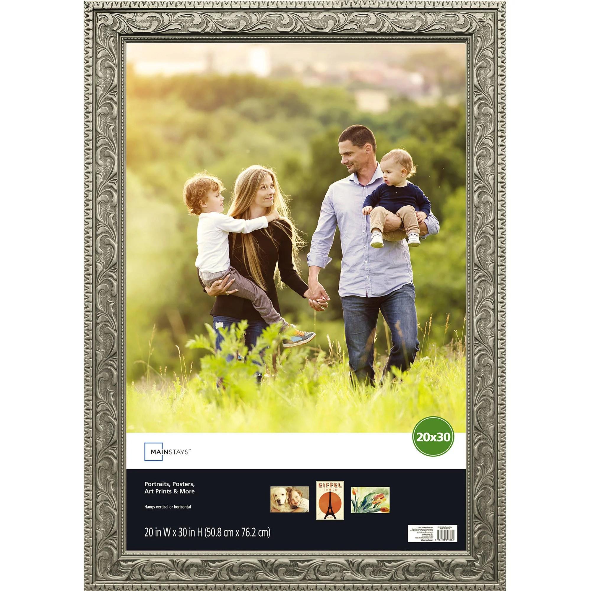 mainstays 20x30 gold poster frame walmart com