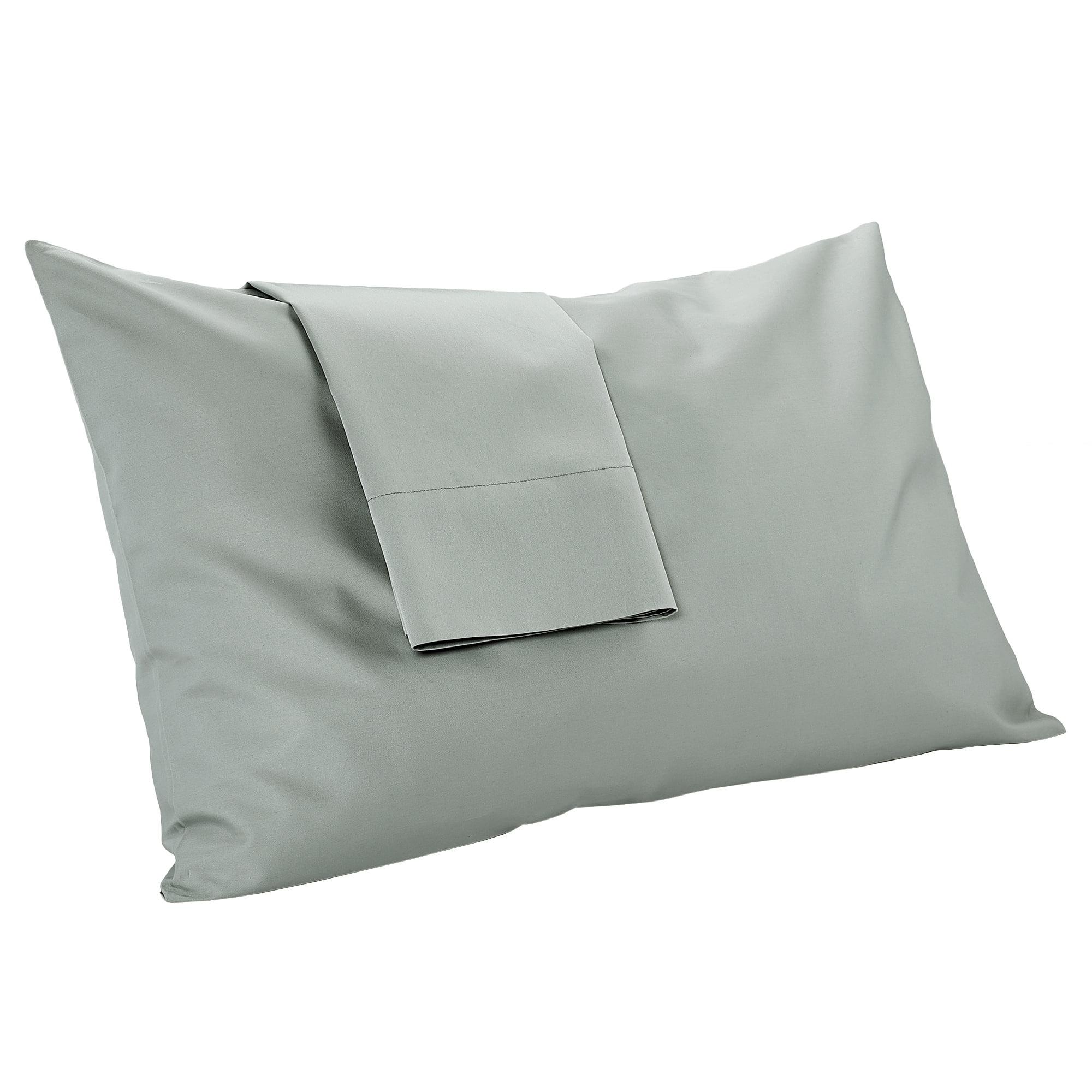 mypillow pillowcase set queen dark gray long staple egyptian cotton giza dreams