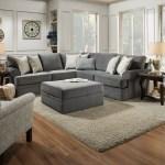 Simmons Upholstery Abington Sectional Walmart Com