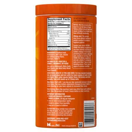 Metamucil المكملات الغذائية اليومية وفقدان الوزن فقدان الشهية ، والبرتقال Zest الخالية من الألياف الشهية ، 57 جرعة 1e619604 cebc 4771 830f c016e2338269 1