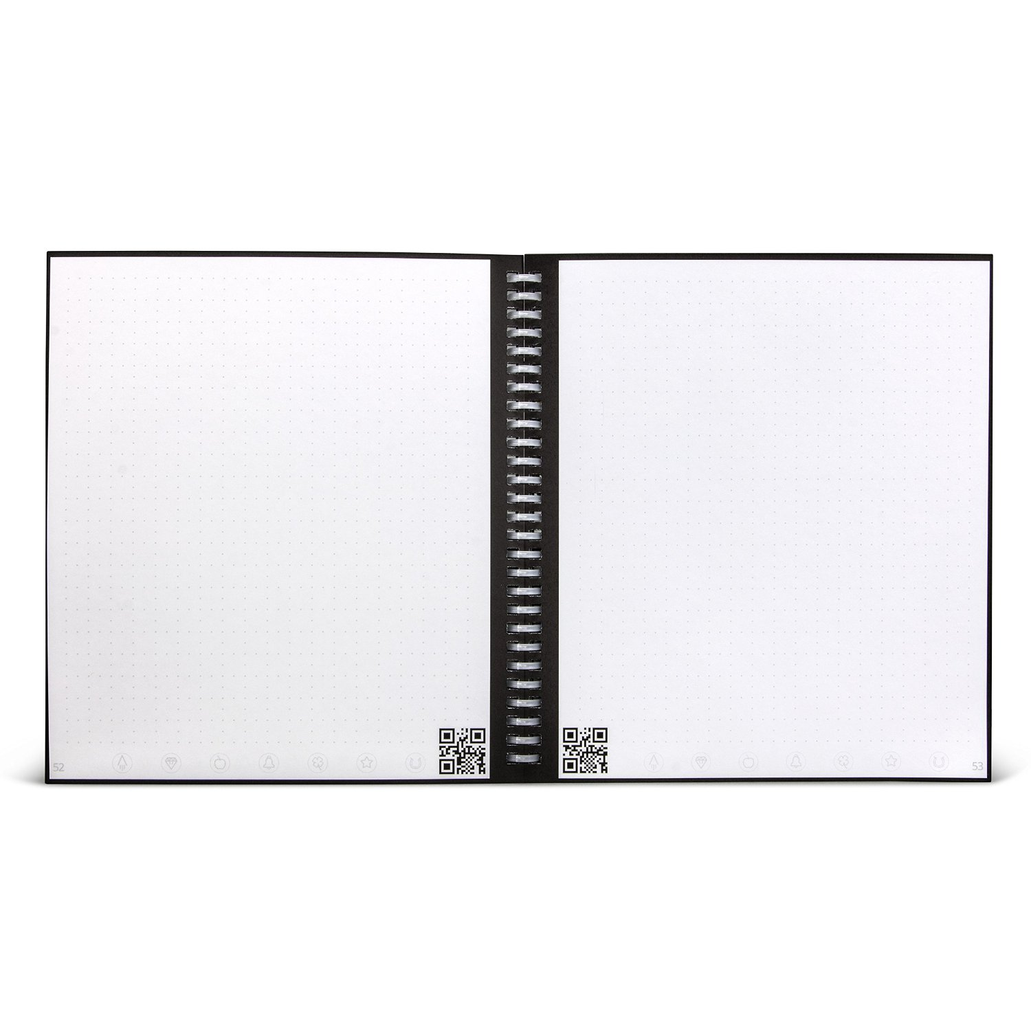 wave smart notebook introducing the world s first smart microwave to erase and reuse notebook by rocketbook walmart com