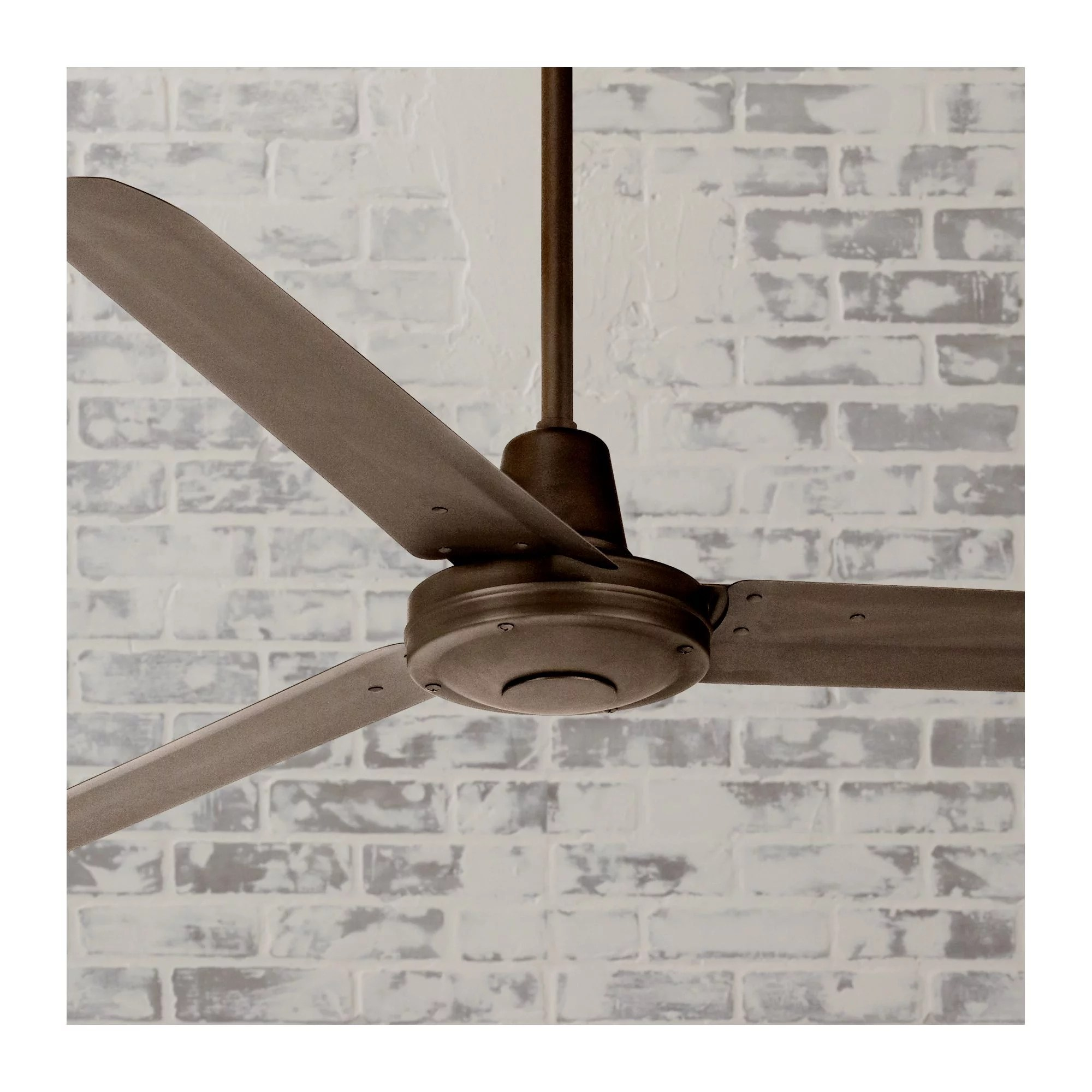 60 casa vieja modern industrial outdoor ceiling fan remote control oil rubbed bronze damp rated for patio porch walmart com