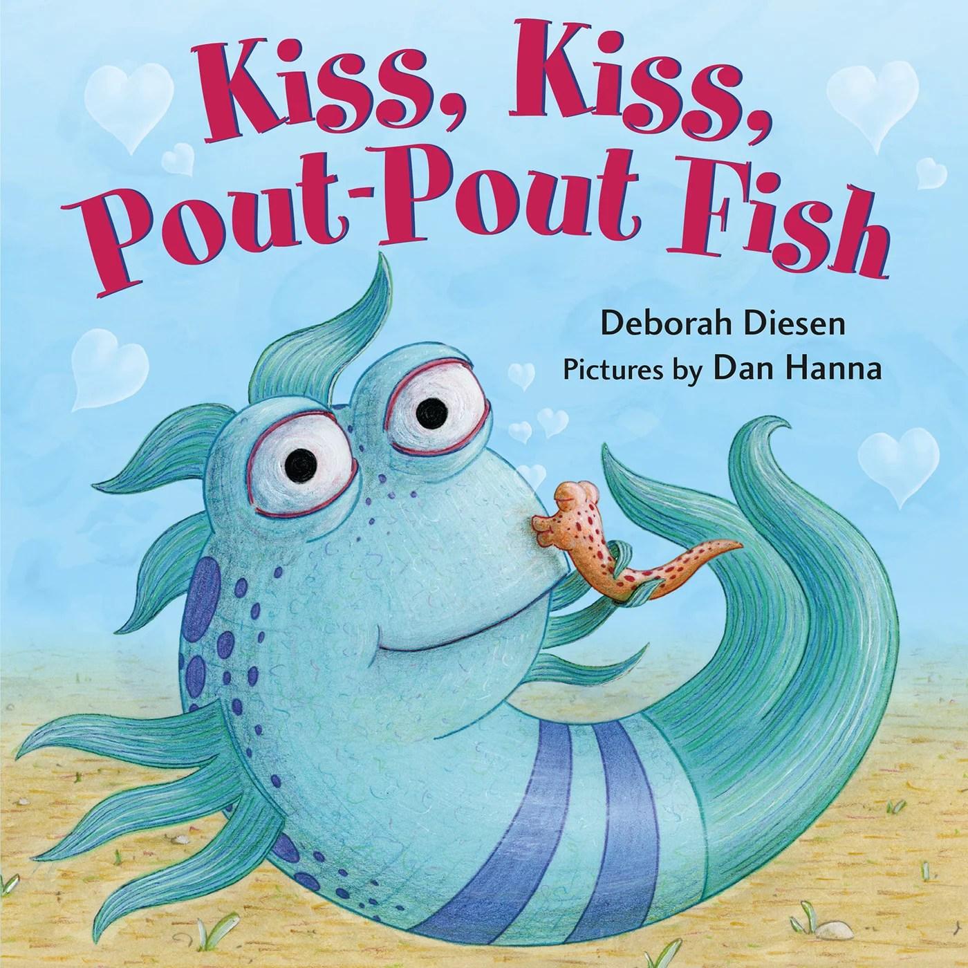 Kiss Kiss Pout Pout Fish Board Book
