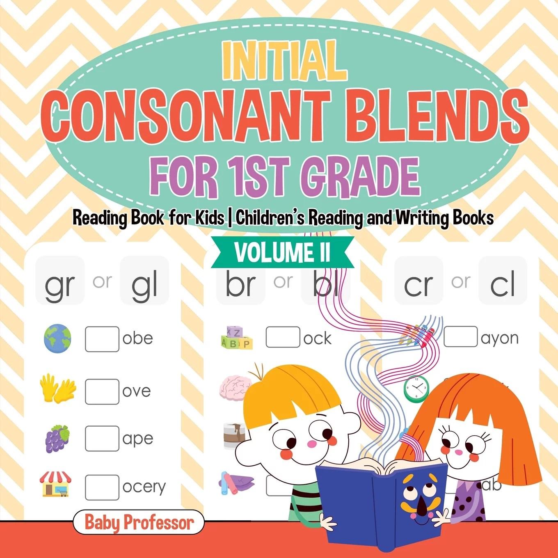 Initial Consonant Blends For 1st Grade Volume Ii