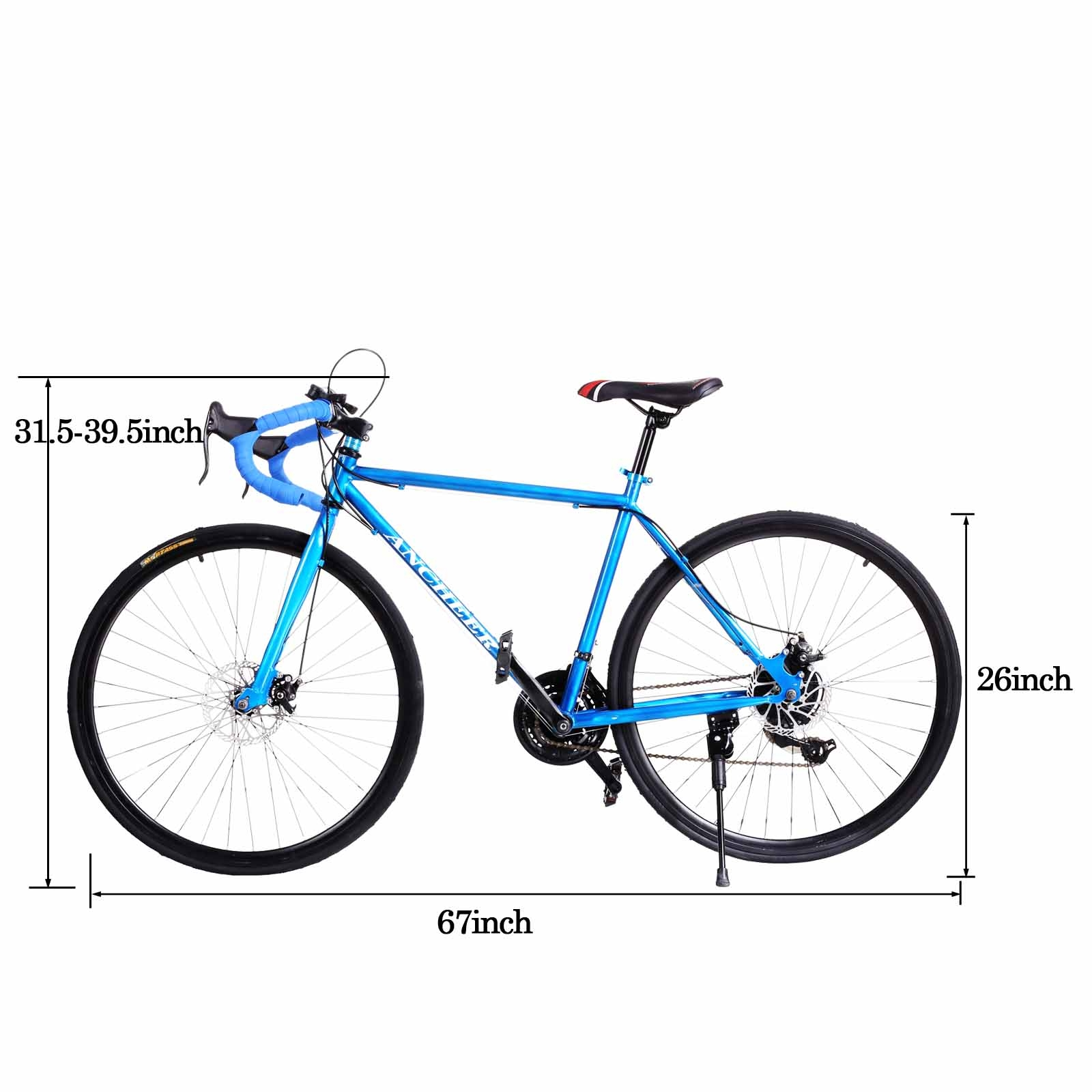 21 Speed 700c Student Road Bicycle Bike Teen Commuter