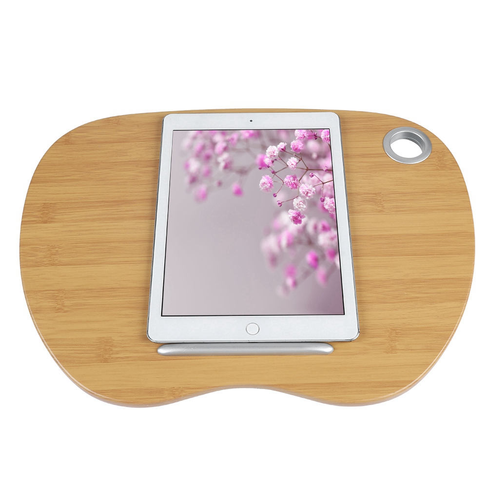dilwe laptop lap desk portable with pillow cushion adults kids laptop stand for car laptop desk work table lap writing board drawing desk on sofa