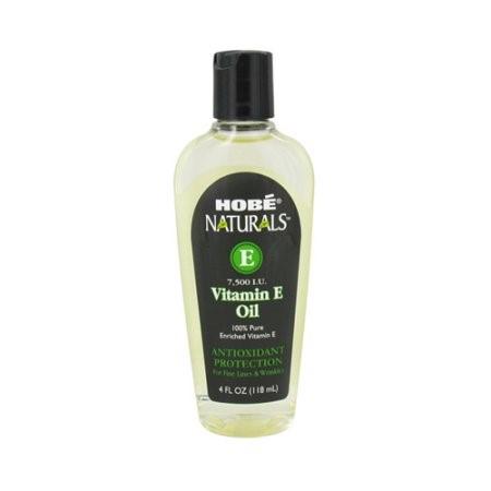 Hobe Labs Vitamin E Oil - 7500 IU - 4 Ounce