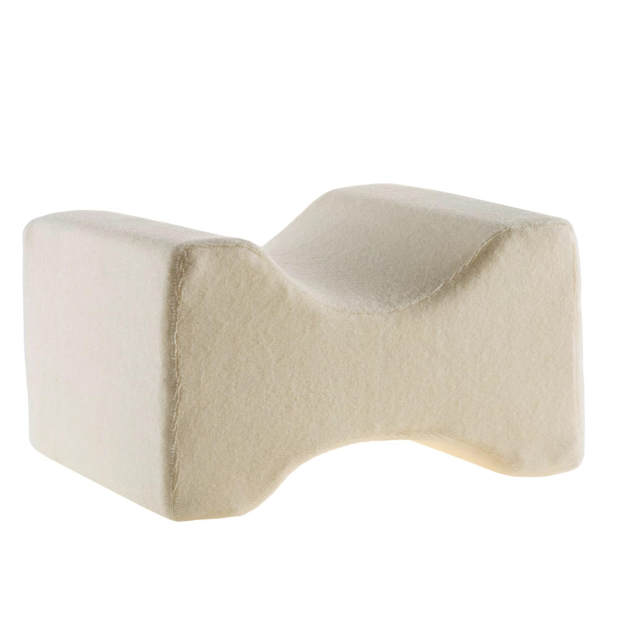 contoured orthopedic memory foam leg pillow by somerset home walmart com