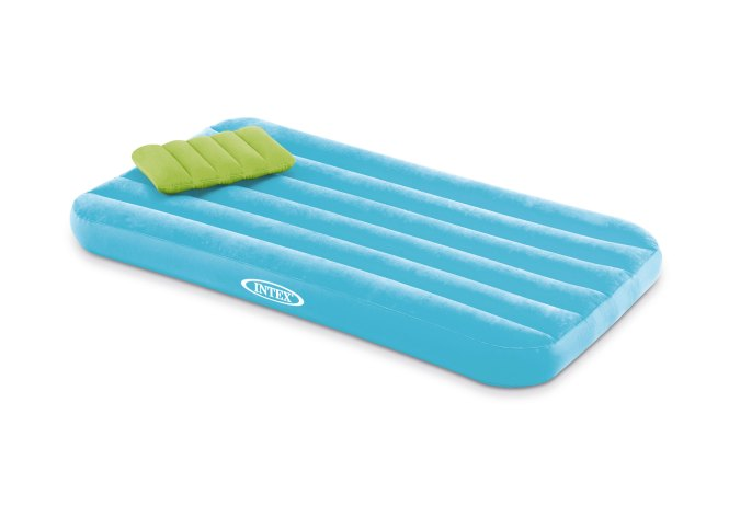 Intex Cozy Kidz Bright And Fun Colored Inflatable Mattress With Pillow 66801ep