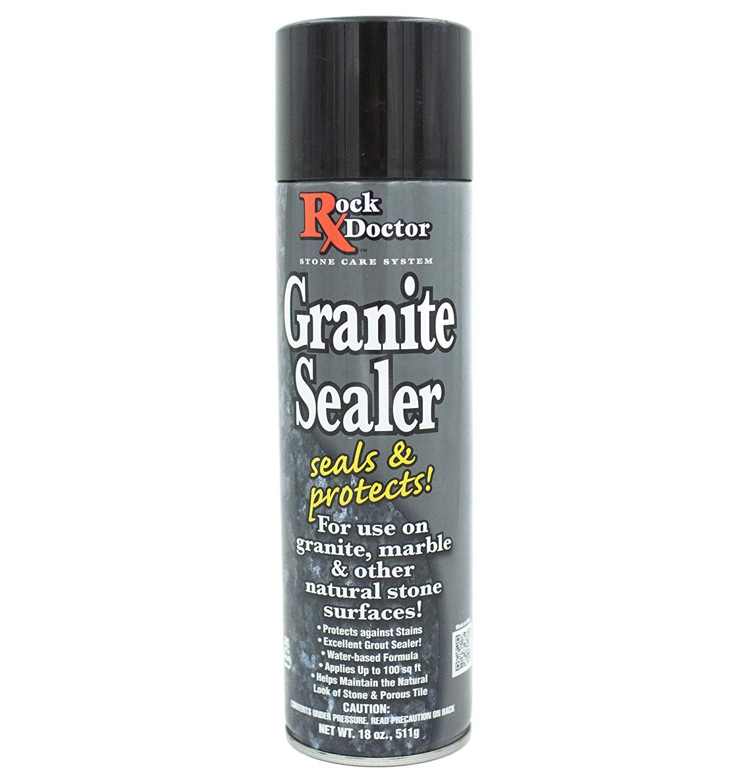 rock doctor granite sealer spray seals protects surfaces 18 oz surface sealer spray granite marble sealer surface spray for vanity table